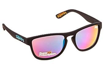 Superdry Black Rock Star Wayfarer Sunglasses Lens Category