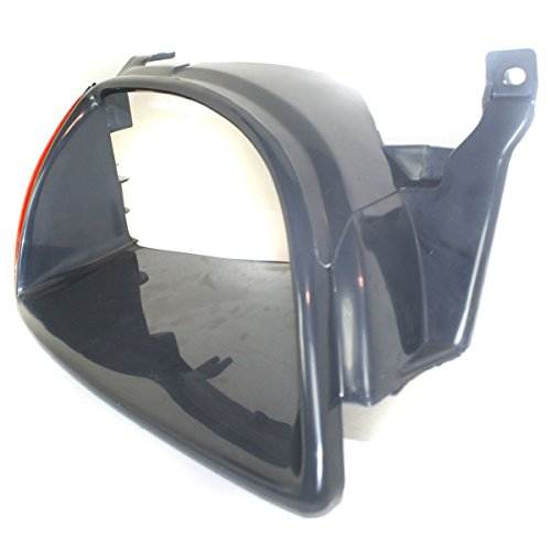 Diften 630-A0199-X01 - New Headlight Door/Bezel Black Passenger Right Side Geo GM2513186 91171887 (Geo Metro Headlight Door compare prices)