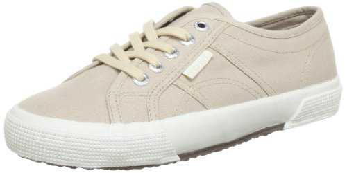 ESPRIT Italia Lace Up Low Top Women Beige Beige (desert stone 275) Size: 4 (37 EU)