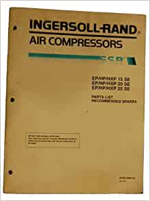 ingersoll rand air compressor parts list ingersoll rand books