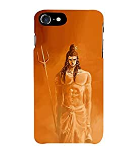 Fiobs Loard Shiva Oil Paint Look Phone Back Case Cover for Apple iPhone 7 Plus (5.5 Inches)