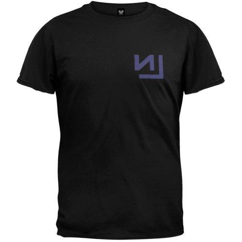 Greucy-darkNine Inch Nails Men's Extension T-shirt Black