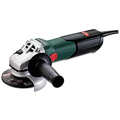 """Metabo W9-115 8.5 Amp 10,500 rpm Angle Grinder with Lock-On Sliding Switch, 4-1/2"""" from Metabo"""