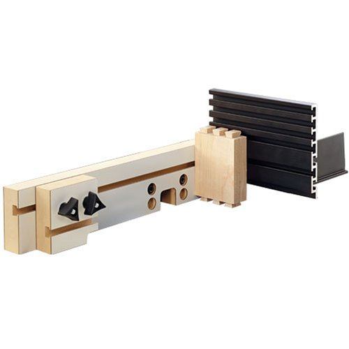 INCRA IJ32FNCSYS Original Jig Fence System with MDF Fence and Shop Stop plus Aluminum Right Angle Fixture