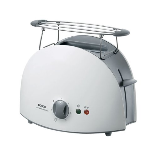 Bosch TAT6101GB 2 Slice Toaster White by Bosch