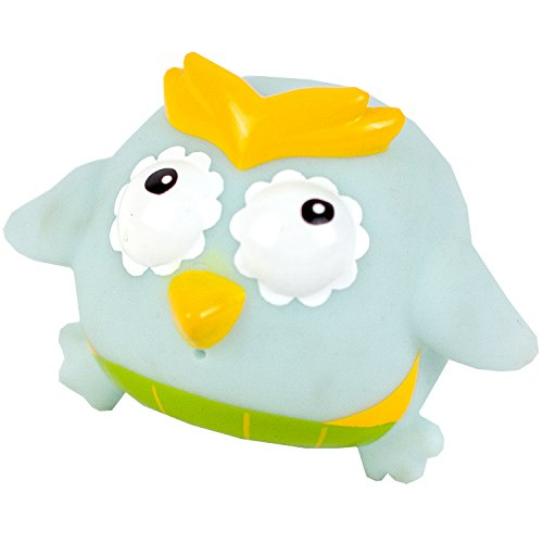Kushies Baby Bath Mat and Floater Set, Owl, 4 Count