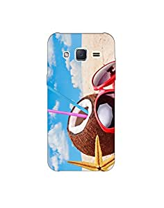 samsung grand ht003 (127) Mobile Case by Mott2 - Coconut Beach Vacation