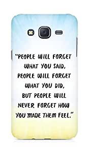 AMEZ people will forget what you said did Back Cover For Samsung Galaxy J5