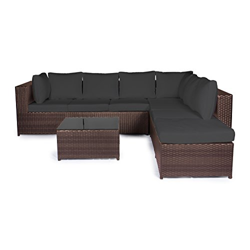 Vanage-XXXL-Gartengarnitur-Chill-und-Lounge-Set-Montreal-bereits-zusammengebaut-braun-schwarz
