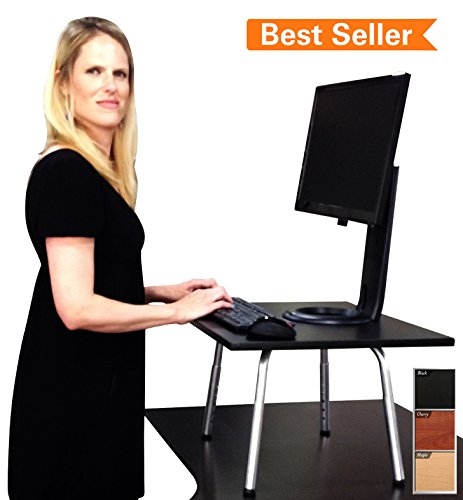 Stand-Steady-Desks-Stehpult-verwandelt-den-Schreibtisch-in-einen-Stehtisch-hhenverstellbar-schwarz