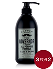 Dapper the Governor Hair & Body Shampoo 690ml