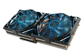 Gelid Solutions Ventilateur Icy Vision A VGA 02-02 pour AMD HD5850 à HD7970, 5 caloducs, 2 ventilateurs 92mm, compatible CrossFire SLI