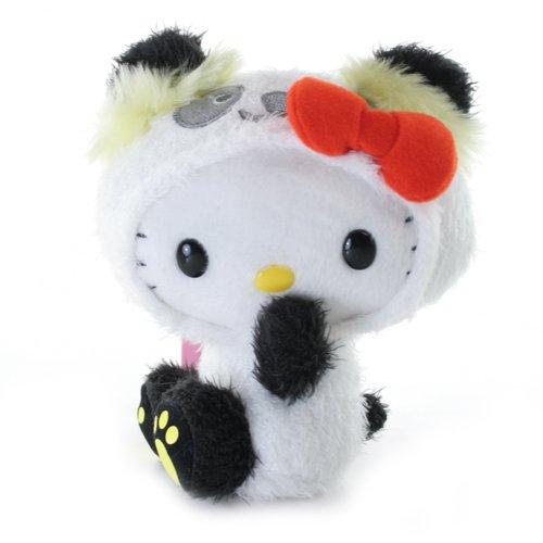 Hello Kitty Panda Plush  Yellow (6