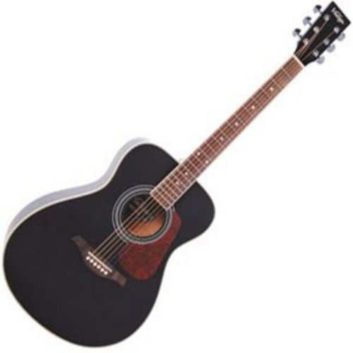 Vintage V300 Acoustic Guitar Black