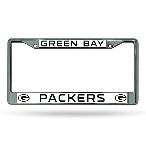 NFL Green Bay Packers Chrome Plate Frame from Rico Industries, Inc.
