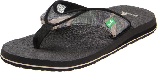 Sanuk Men'S Beer Cozy Flip Flopcamouflage13 M Us back-916507