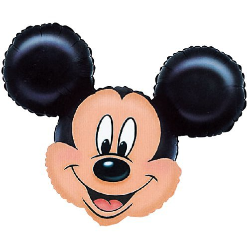 Anagram International 776401 Mickey Mouse Head Shape Pack, 27""