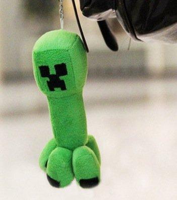 Minecraftマインクラフト Creeper 16cm チャーム キーホルダー