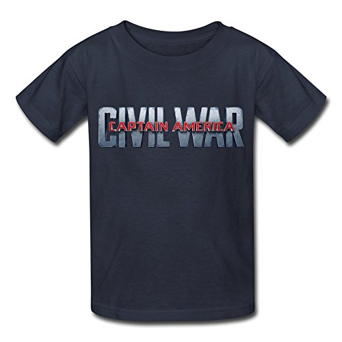 Kid's Captain America Civil War LOGO Tee Shirt
