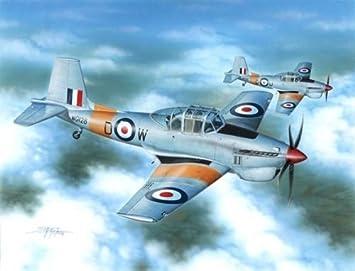 Special Hobby 72234 Boulton & Paul Balliol T.2 RAF Trainer 1:72 Plastic Kit Maquette