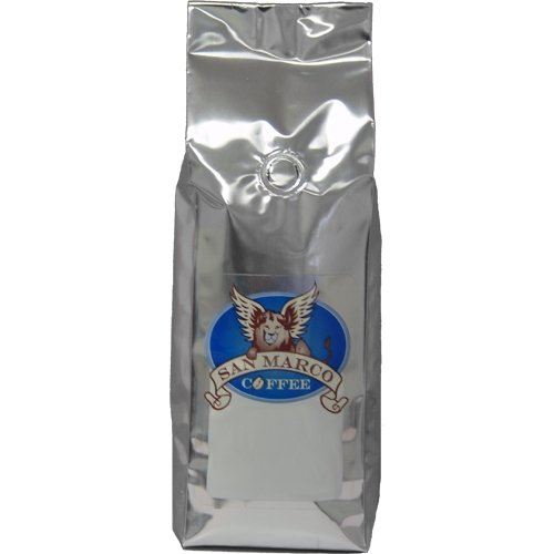 San Marco Coffee Flavored Ground Coffee, White