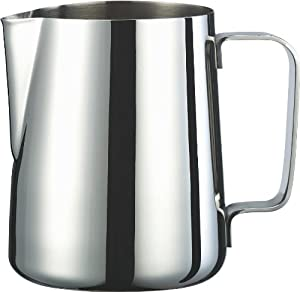 Cuissential Stainless Steel Milk Frothing Pitcher, 12 Oz., Frother Pitcher by Cuissential