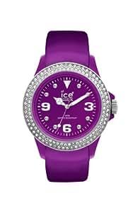Ice-Watch ST.PS.U.L - Reloj de mujer de cuarzo, correa de piel color lila