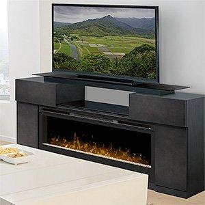 Dimplex Concord Electric Fireplace Entertainment Center