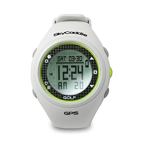 SkyCaddie GPS Golf Watch White