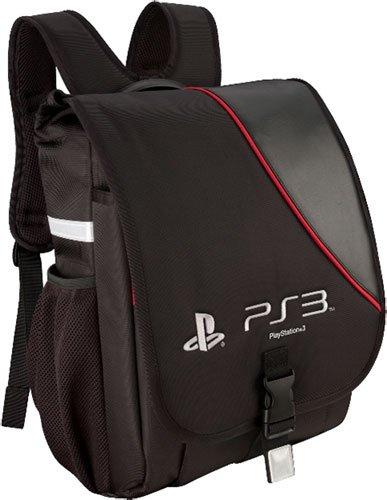 Playstation 3 System Backpack - Black front-1016886