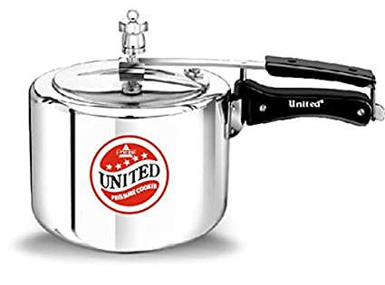 United Aluminium 2 L Pressure Cooker (Inner Lid)