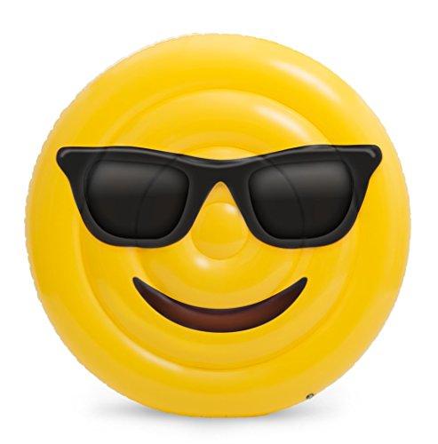 Pool Fun Emoji Sunglasses Giant Pool Float Toys & Games