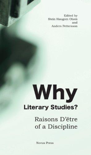 Why Literary Studies? Raisons D'être of a Discipline (Novus Etre compare prices)