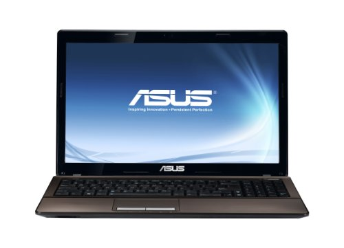 Asus K53E 15.6-inch Laptop (Intel Core i3 2310 2.1GHz, RAM 4GB, HDD 320GB, DVDSM, WLAN, Windows 7 Home Premium 64 Bit)