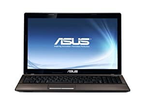 ASUS K53SD 15.6-inch Laptop (Intel Core i7 2670QM 2.2GHz, 4GB RAM, 500GB HDD, DVD SuperMulti DL, LAN, WLAN, Webcam, Windows 7 Home Premium 64-bit)