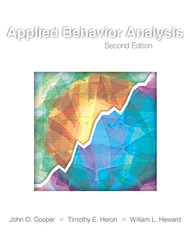 Applied Behavior Analysis (2