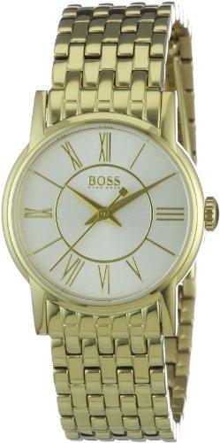 Hugo Boss 1502242 - Reloj de mujer de cuarzo, correa de acero inoxidable color oro
