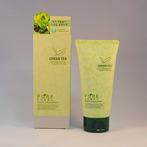 Pure Label Pore Fit Sleeping Mask - Green Tea