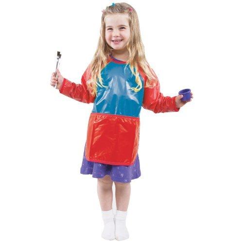 Toddler Smock - Vinyl W/Velcro Closures; No. Cf-400020 - Toddler Smock - Vinyl w/Velcro Closures; no. CF-400020