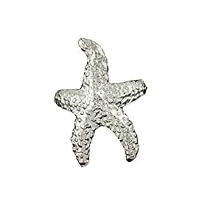 Sterling Silver Pierceless Left Only Ocean Sea Star Starfish Ear Cuff Wrap