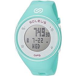 Soleus Women's SG011-345 GPS One Digital Display Quartz Green Watch