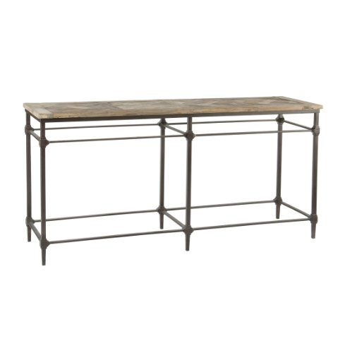 Cheap Mattix French Country Reclaimed Wood 71″ Console Table (BF78)