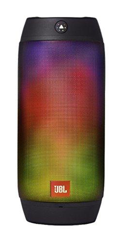 JBL 【国内正規品】PULSE2 マルチカラーLED搭載Bluetoothスピーカー 防水対応 ワイヤレスポータブル対応 ブラック JBLPULSE2BLKJN