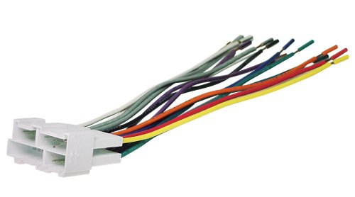 scosche radio wiring harness for 1988 up gm mini connector set