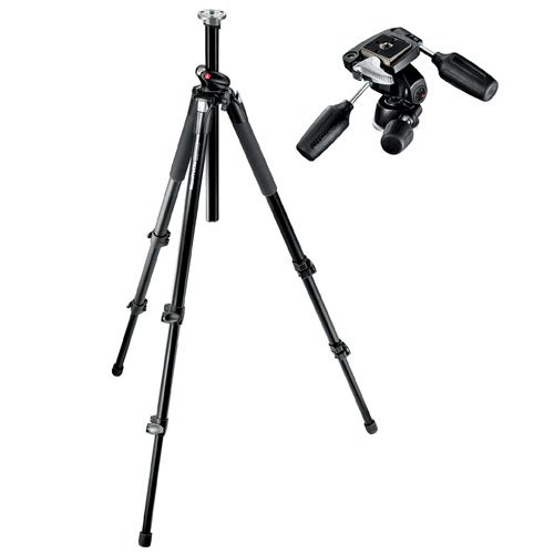 Manfrotto 055XPROB Pro Tripod Black with 804RC2 Head