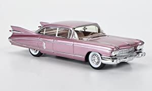 Cadillac Fleetwood Sixty Special Sedan, met.-altrosa, Special model MCW L.E. 300 , 1959, Model Car, Ready-made, Spark 1:43
