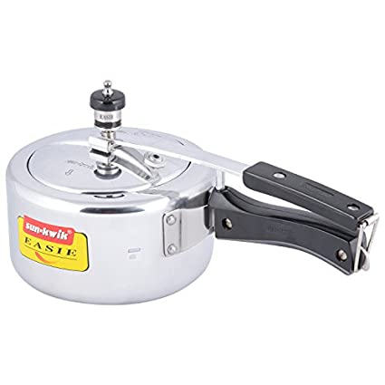 Sun-Kwik Easie Aluminium 2 L Pressure Cooker (Inner Lid)