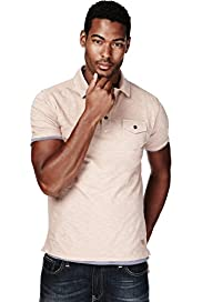 North Coast Pure Cotton Single Pocket Slub Polo Shirt