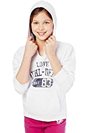 3/4 Sleeve Love Hooded Sweat Top