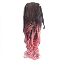 Black To Light Pink Ombre 2013 New Fashion Ombre Hair